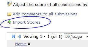 Import Scores